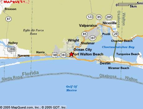 And Golf Resorts On The Emerald Coast Click The Mini Map